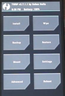 rooting motorola XT1068 by loading package