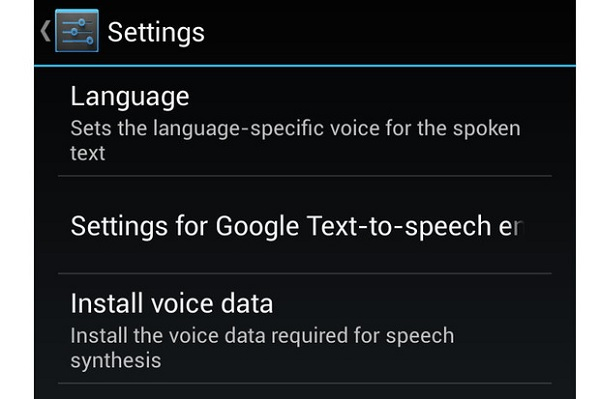 Use Google Text-To-Speech on Android