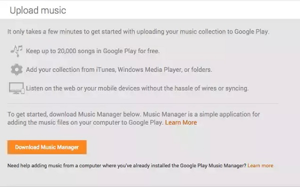 How to sync iTunes Music with Google Play on Android