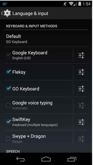 Android Keyboard Settings-add, change,customize your Android keyboard