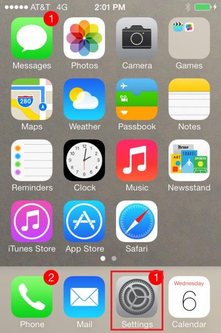 Ford sync iPhone - étape 1 pour coupler votre téléphone avec Ford SYNC