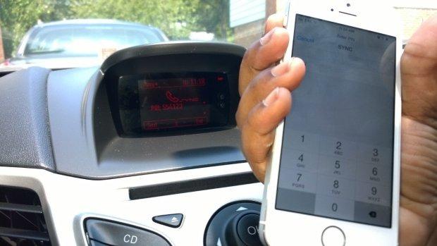 Ford sync iPhone - étape 10 pour coupler votre téléphone avec Ford SYNC