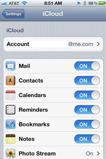 Synchroniser iCal avec iphone - synchroniser iCal avec iPhone en utilisant iCloud