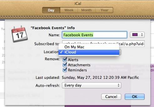 Synchroniser iCal avec iphone - étape 3 pour les préférences système dans iCal