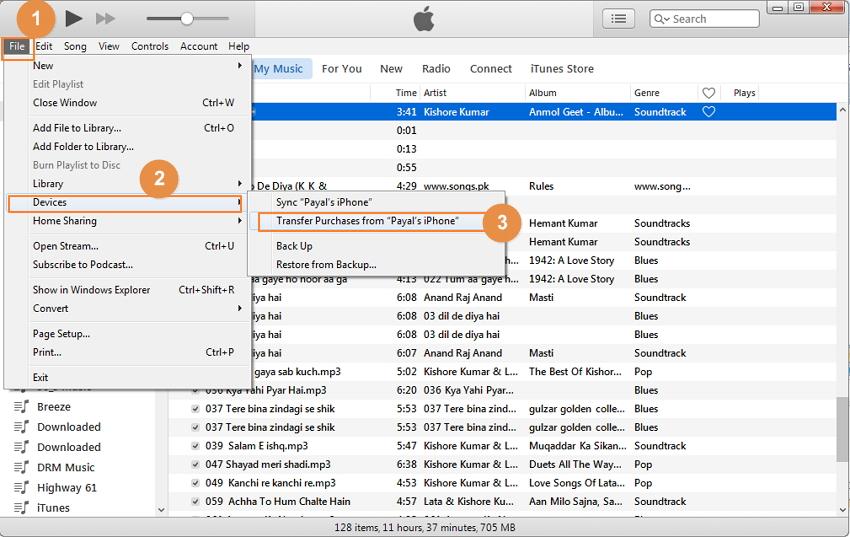 Synchroniser l'iPhone avec un nouvel ordinateur avec iTunes