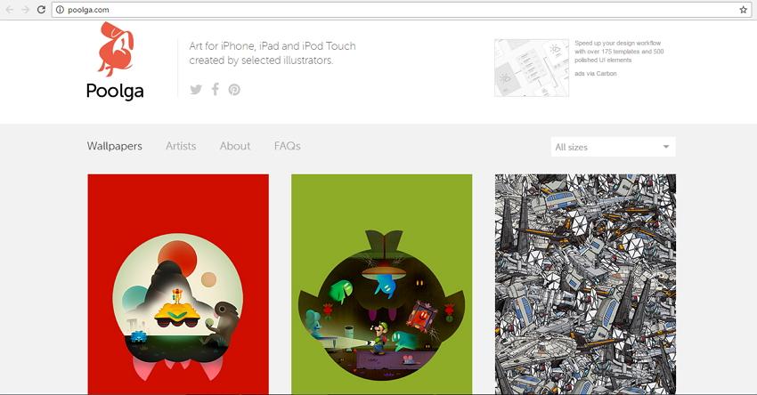 3 Sites populaires pour télécharger des fonds d'écran pour iPhone