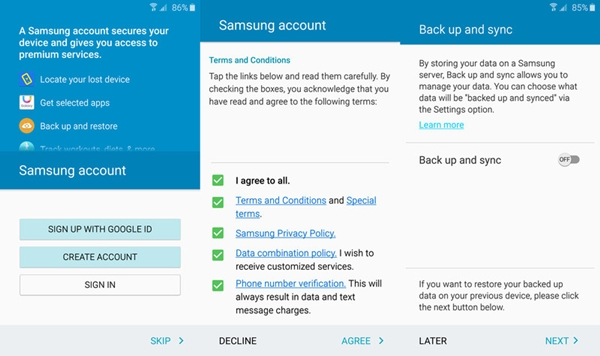 3 Methods to Backup Text Messages on Samsung S9/S9 Edge