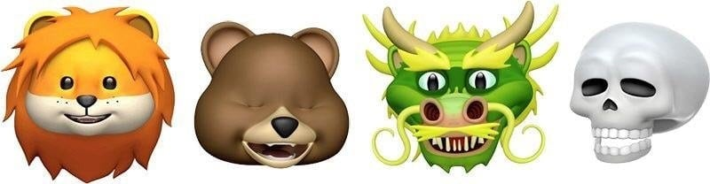 ios 11.3 new animojis