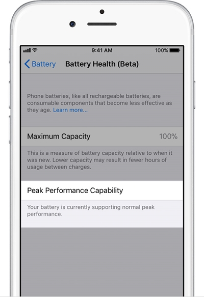 iphone battery performance