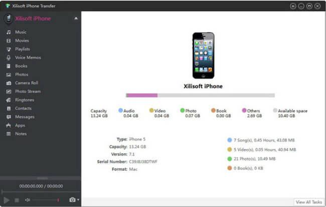 Xilisoft iPhone Transfer