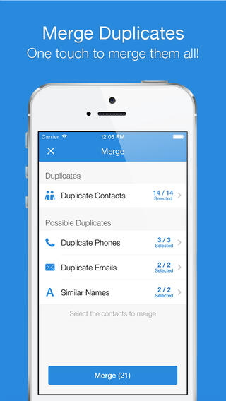 contact manager - Simpler-Smart-Contacts-manager