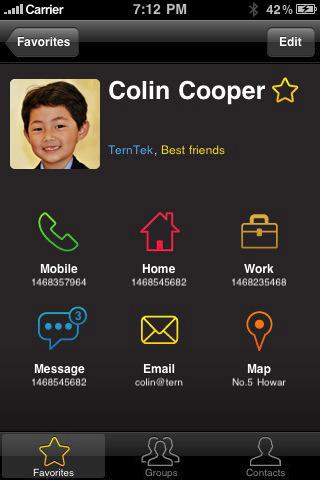 kontaktmanager - Tacts