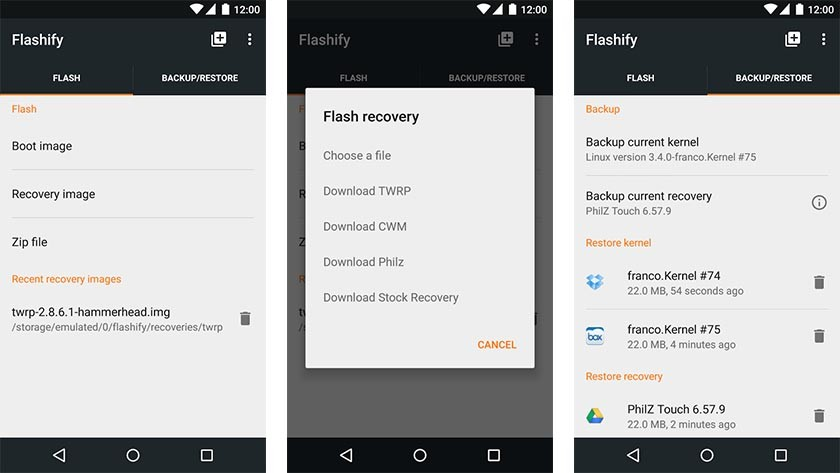Best apps to root Samsung Note 8-Flashify