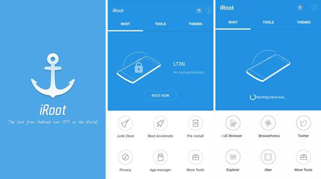 Die besten Apps für das Rooten des Samsung Note 8-iRoot