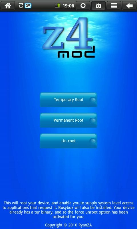temporary root apk