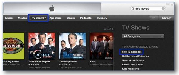 How to find Best iTunes movie-free tv show