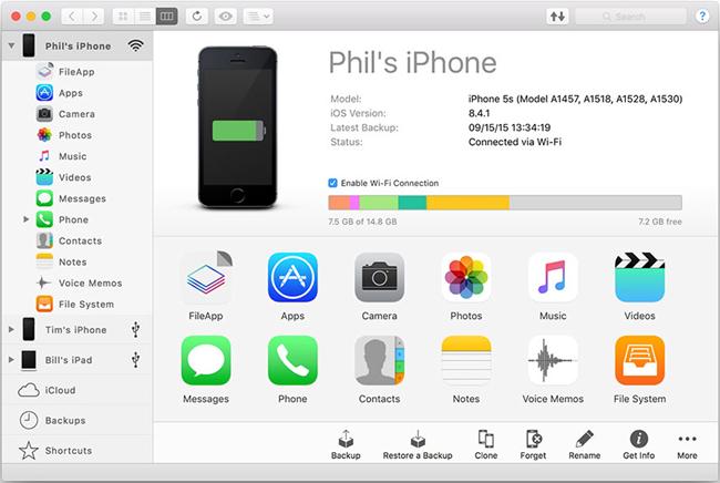Transférer des applications d'iPad à iPad - iMazing