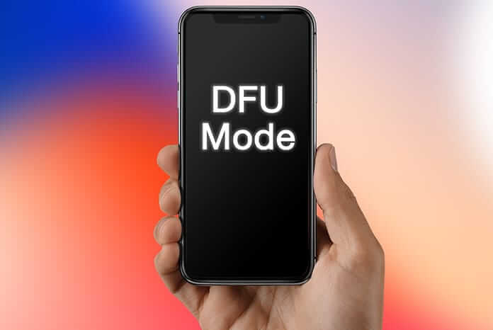 DFU to fix iphone stuck in recovery mode