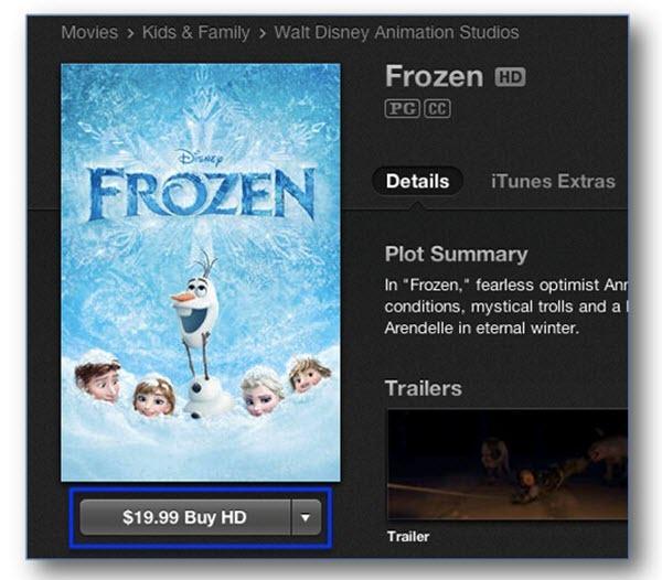 How to find Best iTunes movie-itunes movie price