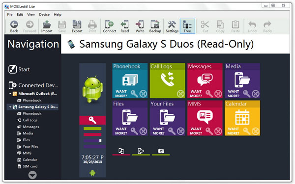 Samsung kies alternative - MOBILedit