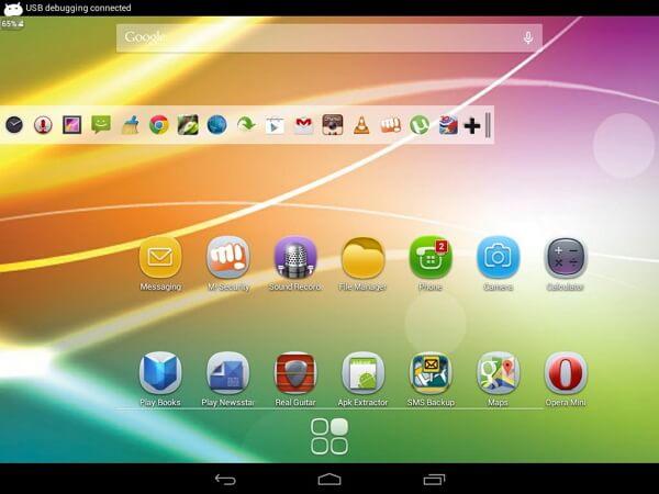 hide system bar full screen 4pda