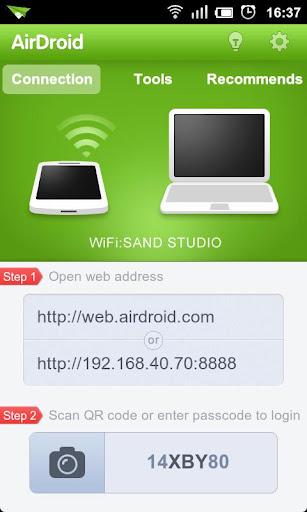transférer des photos d'android vers mac