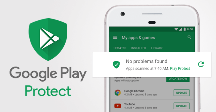 google play protect in android oreo