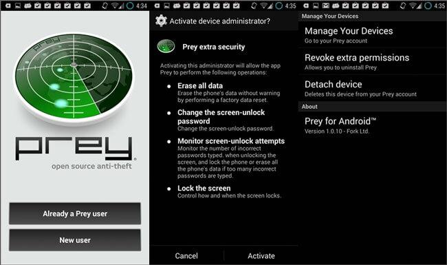 Image result for prey anti theft app