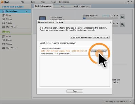 samsung kies backup download