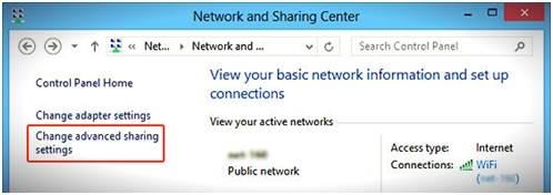 Transfer Files from Samsung to PC via WiFi-windows 8