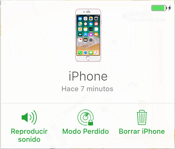 buscar mi iphone