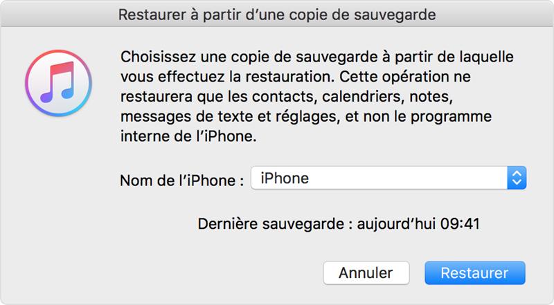 Récupérer les photos supprimées de l'iPhone