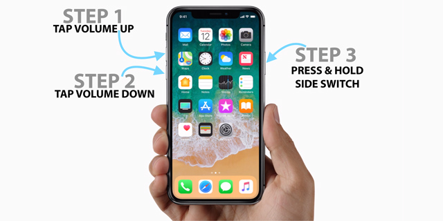 force restart iphone xs