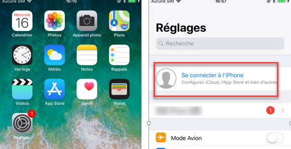 Récupérer contact iphone 04