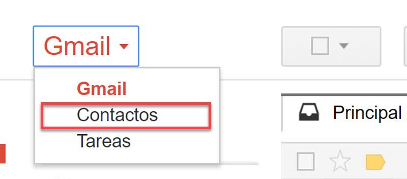 Copiar contactos de iphone a android con Gmail