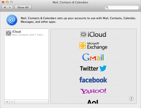 android and mac sync: gmail credentials