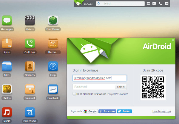 mac to android file transfer: wifi