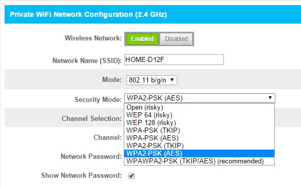 protect home wifi - network encryption