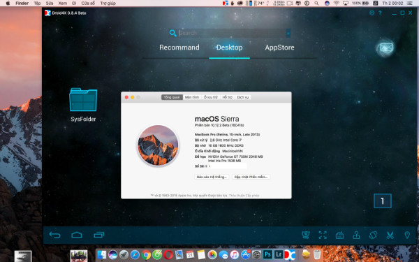 run android apps on mac: Droid4X