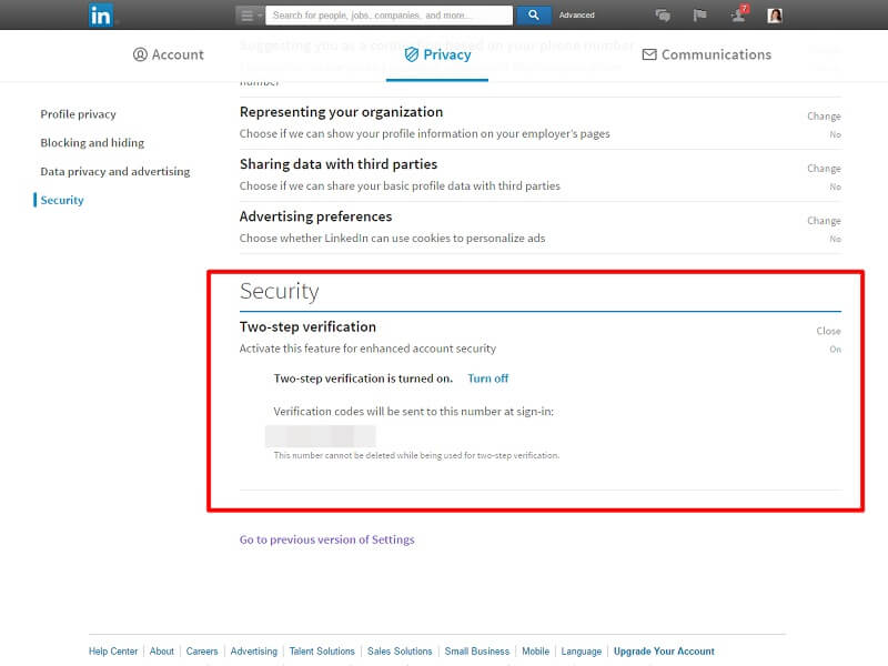 make linkedin secure - linkedin authentication