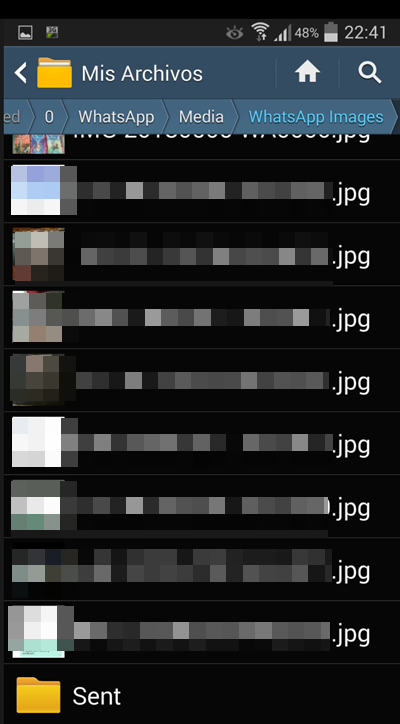 recuperar fotos borradas del whatsapp