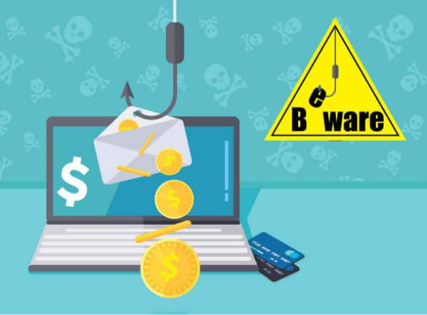 stolen id: phishing emails