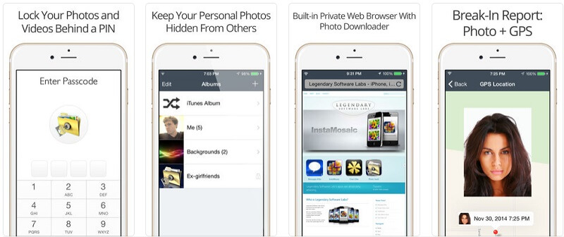 protect privacy on iphone and ipad - Private Photo Vault