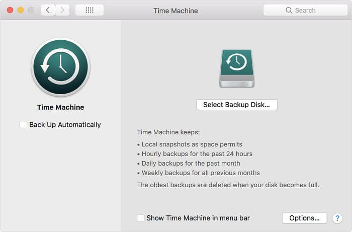 protect mac os privacy - data backup on mac