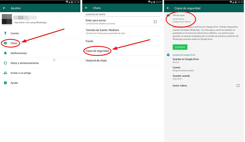 migrar WhatsApp de Android a iPhone