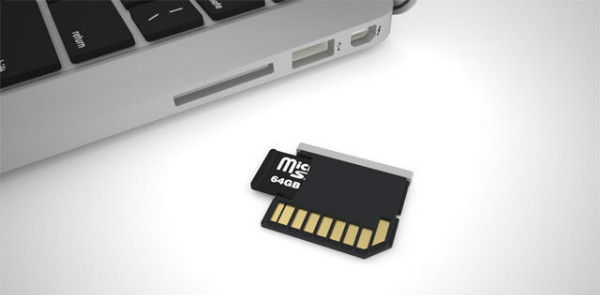 sd card - connect android to mac
