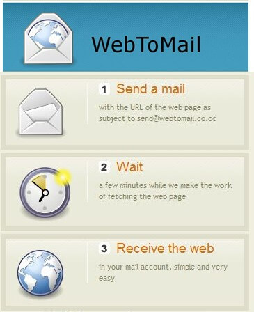 access blocked websites: email