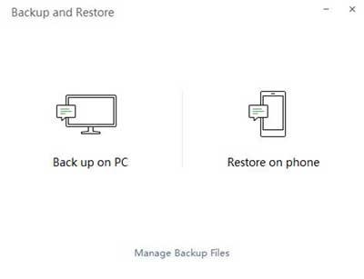 how to backup wechat: backup on the pc