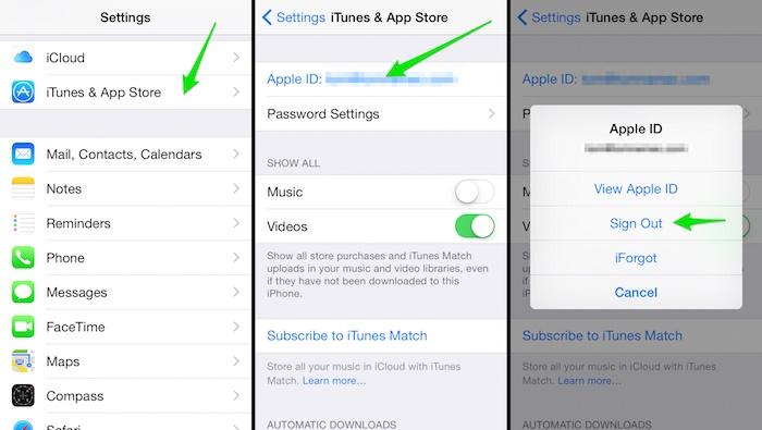 fotos desaparecieron después de actualizar ios 12 -Restablece tu Apple ID