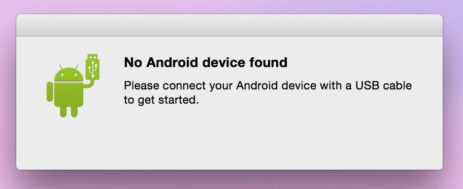移动到PC文件传输 - 将您的Android设备连接到您的计算机